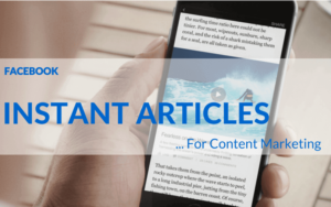Facebook Introduces Instant Articles