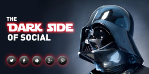 your social links have gone dark star wars vader