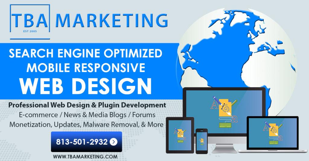 TBA web design | TBA Marketing